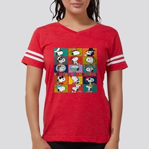 Snoopy-You Can Be Anything Womens Football Shirt