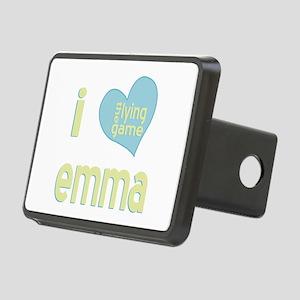 I Love Emma Lying Game Rectangular Hitch Cover