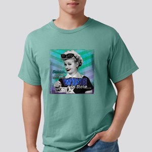 I Love Lucy: Wine Mens Comfort Colors Shirt