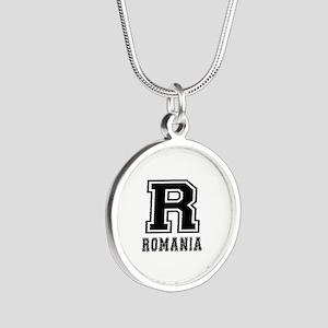 Romania Designs Silver Round Necklace