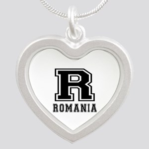 Romania Designs Silver Heart Necklace
