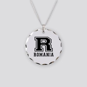 Romania Designs Necklace Circle Charm
