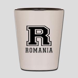 Romania Designs Shot Glass