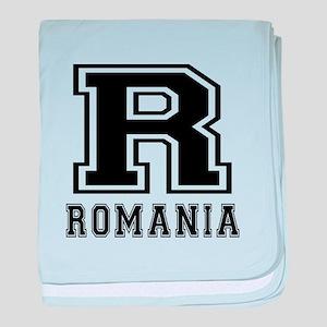 Romania Designs baby blanket