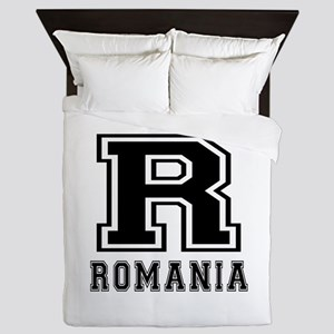 Romania Designs Queen Duvet