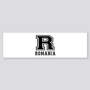 Romania Designs Sticker (Bumper)