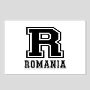 Romania Designs Postcards (Package of 8)