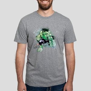 Hulk Grunge Mens Tri-blend T-Shirt