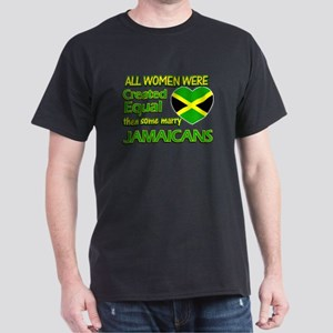 Jamaican husband designs Dark T-Shirt