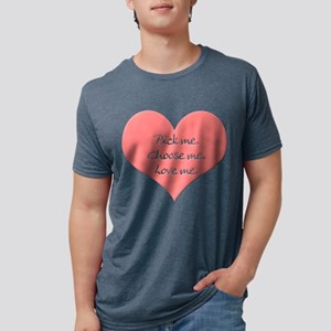 Pick Me Mens Tri-blend T-Shirt