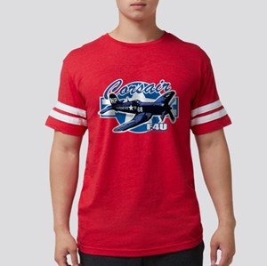 F4U-Corsair Mens Football Shirt