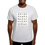 ASL Alphabet Light T-Shirt