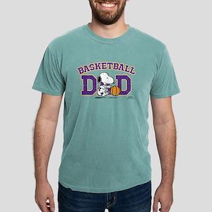 Snoopy - Basketball Dad Mens Comfort Colors Shirt