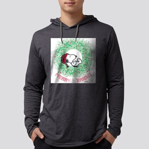 Snoopy - Merry & Bright Mens Hooded Shirt