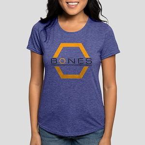 Bones Logo Light Womens Tri-blend T-Shirt
