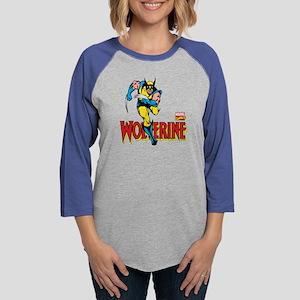 Wolverine Running Womens Baseball Tee