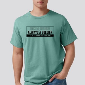 Always a Soldier Mens Comfort Colors Shirt
