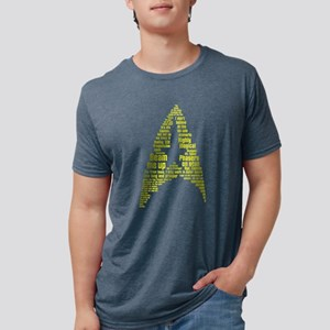 Star Trek Quotes Insignia - Mens Tri-blend T-Shirt
