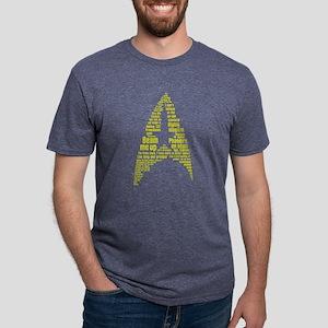 Star Trek Quotes Insignia - Mens Tri-blend T-Shirt