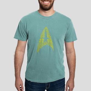 Star Trek Quotes Insigni Mens Comfort Colors Shirt