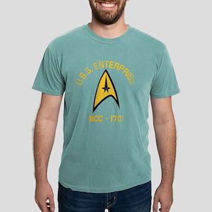 STARTREK_RETRO_ENTERPRIS Mens Comfort Colors Shirt