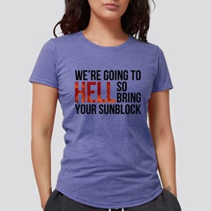 Entourage: Going To Hell Womens Tri-blend T-Shirt