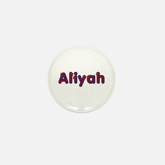 Aliyah Red Caps Mini Button