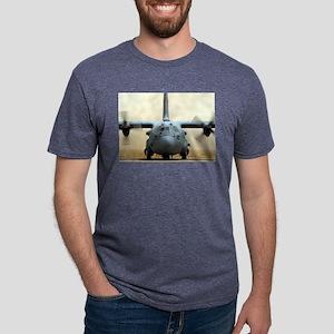 c-130 Sather Air Base, Bagh Mens Tri-blend T-Shirt