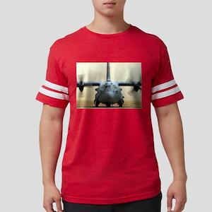 c-130 Sather Air Base, Baghdad Mens Football Shirt