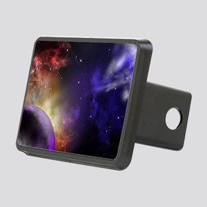Universe with Planet and S Rectangular Hitch Cover