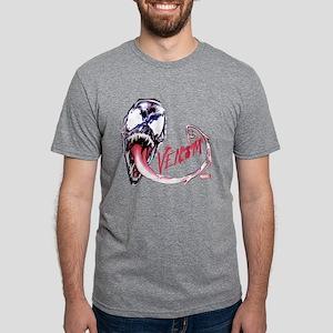 Venom Face Mens Tri-blend T-Shirt