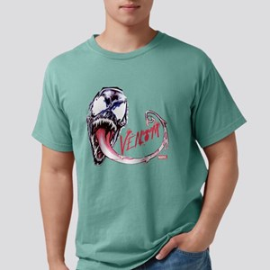 Venom Face Mens Comfort Colors Shirt