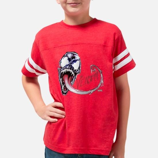 Venom Face Youth Football Shirt