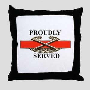 CAB served Throw Pillow