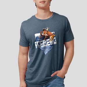 Ice Age Ice Berg Brigade Li Mens Tri-blend T-Shirt