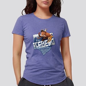 Ice Age Ice Berg Brigade  Womens Tri-blend T-Shirt
