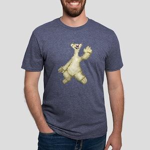 Ice Age 8-Bit Sid Light Mens Tri-blend T-Shirt