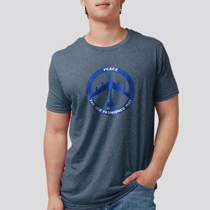 2-Peace The Old Fashioned W Mens Tri-blend T-Shirt
