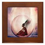 Angel #142 : Framed Tile