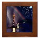 Angel #154 : Framed Tile