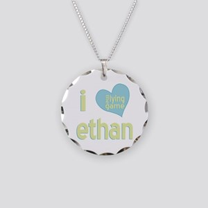 I Love Ethan Lying Game Necklace Circle Charm