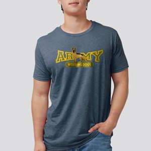Army Working Dogs Mens Tri-blend T-Shirt