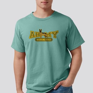 Army Working Dogs Mens Comfort Colors Shirt