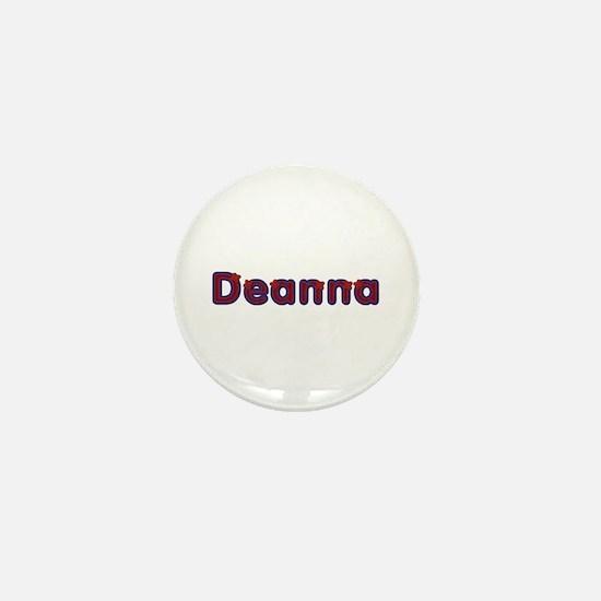 Deanna Red Caps Mini Button