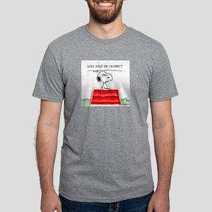2-CrabbySnoopy2PW Mens Tri-blend T-Shirt