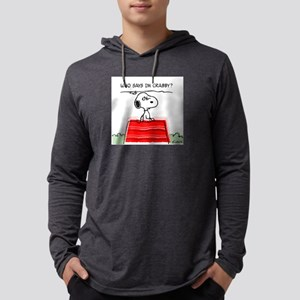 2-CrabbySnoopy2PW Mens Hooded Shirt