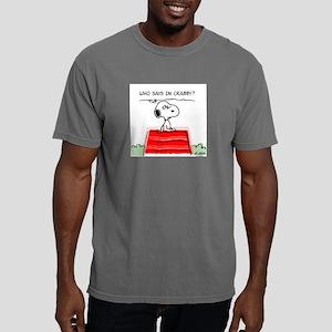 2-CrabbySnoopy2PW Mens Comfort Colors Shirt
