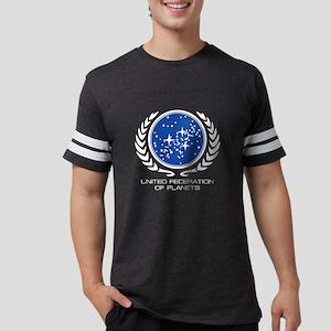 Federation Of PLanets Logo2-03 Mens Football Shirt