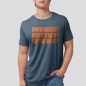 The Wire Sheeeeeit Mens Tri-blend T-Shirt