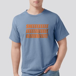 The Wire Sheeeeeit Mens Comfort Colors Shirt